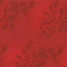 "Sale**108"" Wide Quilt Backing Fabric**Tonal Vineyard Warm Red**1/2 METRE LENGTHS"