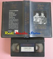 film VHS STANLIO E OLLIO LA RAGAZZA DI BOEMIA EaglePrestige 1936  (F31) no dvd