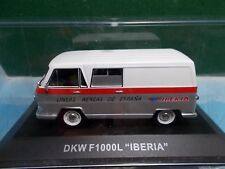 ALTAYA RBA AGOSTINI DIE CAST DKW F1000L IBERIA VAN  BOXED 1:43 AS NEW