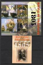 TUVALU MNH 2005 MS1162 & MS1163 BICENTENARY OF THE BATTLE OF TRAFALGAR