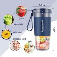 Personal Portable Mini Blender Cup | 10oz/300ml | USB Rechargeable | Waterproof