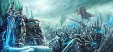 World of Warcraft The Lich King Wei Wang Giclee Poster Print 12x26 COA Blizzard