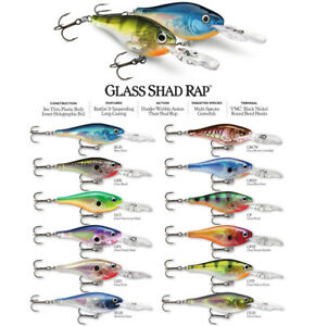 Rapala Glass Shad Rap // GSR05 // 5cm 9g Fishing Lures (Choice of Colors)