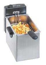 Bartscher Tisch Friteuse 1x4 Liter Edelstahl A165110 Fritteuse NEU Mini II 2