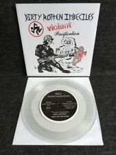 """Dirty Rotten Imbeciles - Violent Pacification 7"""" CLEAR Beer City DRI Punk"""