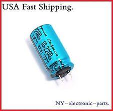 (10PCS) 2200UF 10V RUBYCON ELECTROLYTIC CAPACITOR 130°C 10V2200UF