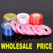 Wholesale Whole Roll 250 Yard Metallic Ribbon 500 m Plain Ribbon Tie String