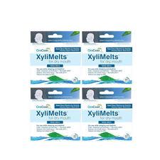Paquete De 4 oracoat xylimelts leve-perfecto para sequedad de boca 40 discos cada