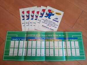 Vintage French Franch 98 Bubblegum Sticker Charts Job Lot