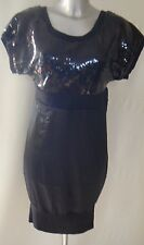 FUSE By PREEN Sequin Rib Dress UK Size 10 WOMEN'S NEW TAGS
