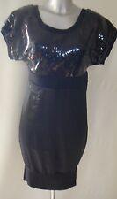 Fuse by Preen Sequin Rib Dress UK Size 10 Women's Nes