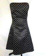 Jessica McClintock Gunne Sax Dress Size 7 8 Homecoming Prom Cocktail Polka Dot