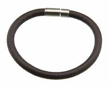 Leather Strap Ø6mm Man Woman Clasp Clips Metal Ethnic Brown BB 21043