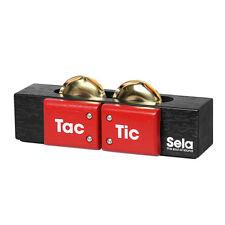 Sela TAC TIC se 055 Cajon add-on-Shaker, nacchere, sonagli, M. nastro di velcro
