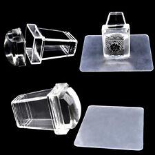 1x Nail Art Stamping Stamper Scraper Image Printing Plate Manicure Printing Tool