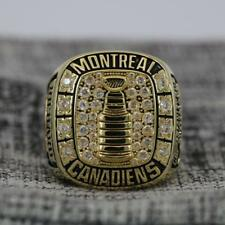 Year 1964 Montreal Canadiens Stanley Cup Championship Copper Ring 8-14Size