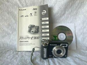 Fujifilm Finepix E900 9.0MP Digital Camera Black 4 x optical 9 mega pixels :
