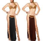 Cleopatra Goddess Roman Egyptian Ladies Halloween Fancy Dress Costume Outfits