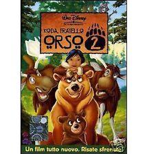 DISNEY DVD Koda fratello orso II con celophan