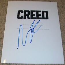 MICHAEL B. JORDAN SIGNED AUTOGRAPH CREED SCRIPT COVER (COVER ONLY) APOLLO ROCKY