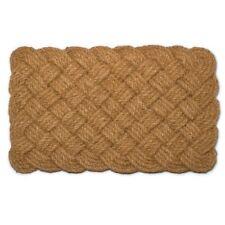 Natural Woven Rope Doormat - Unique & Natural Coco Palm Fibre by Abbott