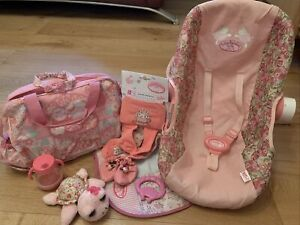baby annabell carrier And Accessories Bundle