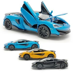 1:32 2019 McLaren 600LT Supercar Diecast Model Car Diecast Toy Vehicle Pull Back