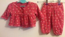 Baby Girls Gap Reversible Long Sleeved Two Piece Set Age 0-3 Months