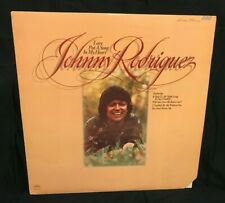 """Johnny Rodriguez Vinyl Records LP Love Put A Song In My Heart Record Vintage 12"""""""