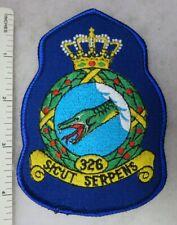 DUTCH ROYAL NETHERLANDS AIR FORCE 326 SQUADRON PATCH Vintage Original