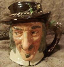 Vintage Rare 1953 Royal Doulton Character Toby Jug Compleat Angler Izaak Walton