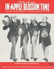 In Apple Blossom Time - Pickwick - 1964 Sheet Music