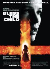 BLESS THE CHILD MOVIE POSTER 2 Sided ORIGINAL 27x40 KIM BASINGER JIMMY SMITS