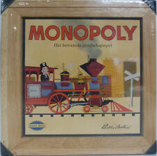 Monopoly Wooden Limited Edition 2003 **Dutch**