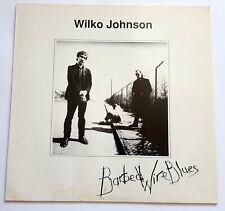 LP Wilko Johnson – Barbed Wire Blues WHITE Vinyl GER NM