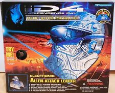 Independence Day ID-4 Alien Attack Leader Ultra Metallic