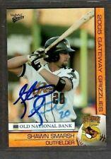 2005 Multi-Ad Gateway Grizzlies #24 Shawn Smarsh Baseball Signed Autograph