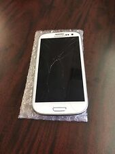 samsung galaxy s3 tracfone. cracked screen. works great. fast ship!