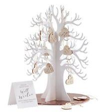 Beautiful Botanics Wooden Wishing Tree Guest Book - for weddings
