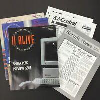 LOT of Vintage Apple II computer newsletters