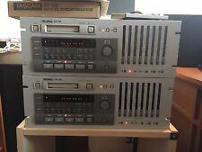 2 TASCAM DA-88 Digital Multitrack Recorders 8-Track 16-Bit Reproducer