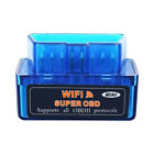 Obdii Scanner Elm327 Smart Wireless Wifi Code Reader Car Diagnostic Tool Blue
