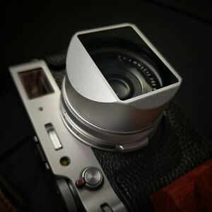 Design For Fujifilm FUJI X100V X100F X100S Aluminum Square Lens Hood Adapter