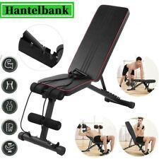 Hantelbank Multifunktion Trainingsbank Schrägbank Klappbar Fitness Bench NEU