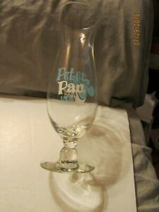 Vintage Peter Pan & Kapok Tree Inn Urbana, Maryland Hurricane Glass