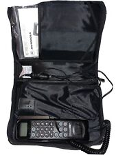 90's Motorola Cellular One Bag Phone Cell With Case