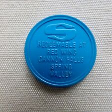 Cannon Falls Minnesota Super Valu plastic token - Red Wing, Spring Valley