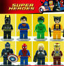 8 Set Super Heroes Minifigures Marvel Superhero figures compatible with Lego