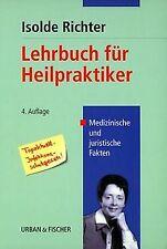 Lehrbuch für Heilpraktiker von Richter, Isolde | Buch | Zustand gut