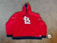 Genuine MLB St. Louis Cardinals Stitches Embroidered Pullover Hoodie Mens Sz XXL